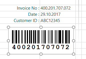 how to add barcode html